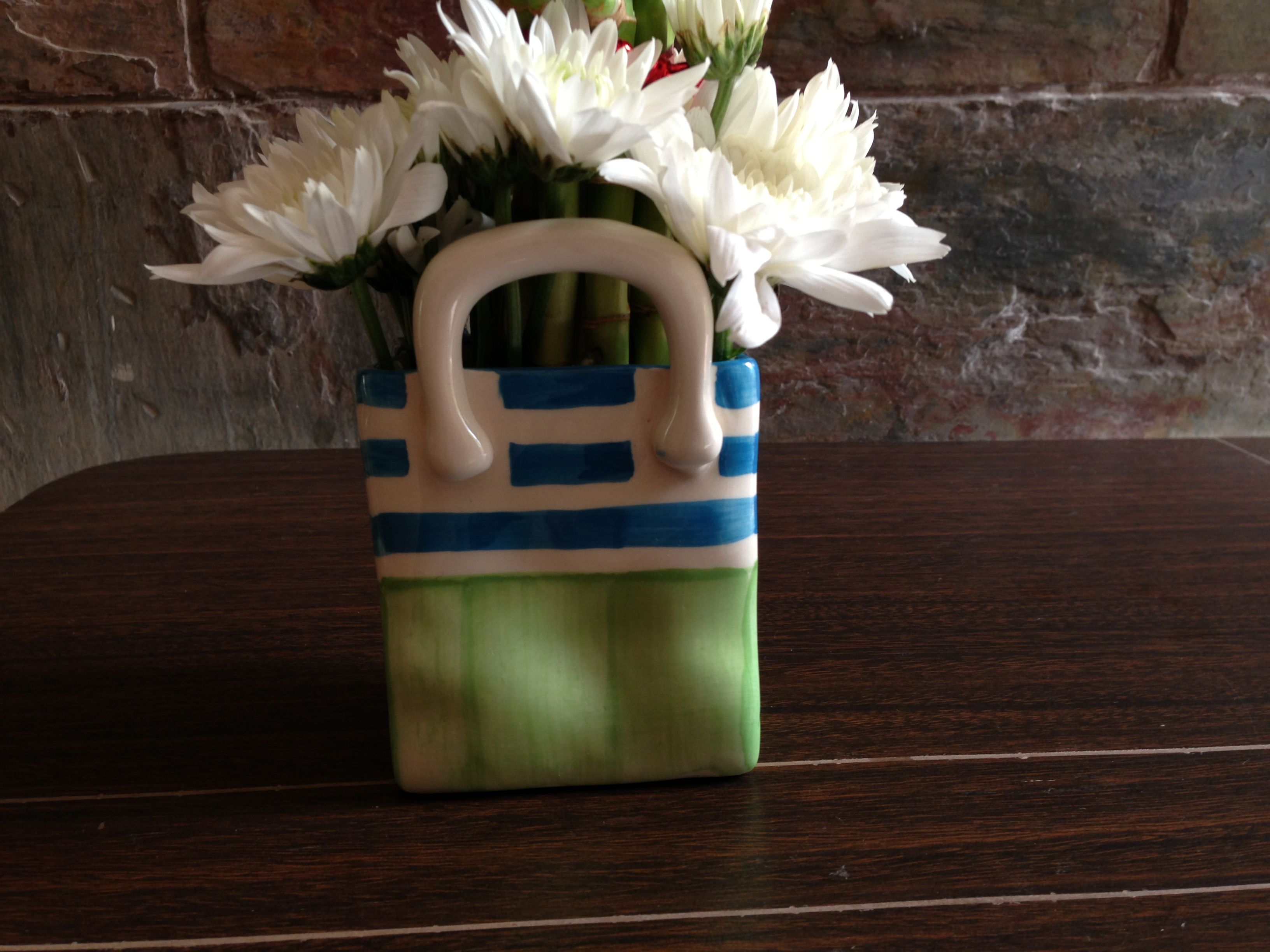 Flower holder flower holder flowers pottery