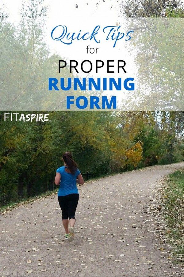Quick Fixes for Proper Running Form Running form, Running and - proper running form