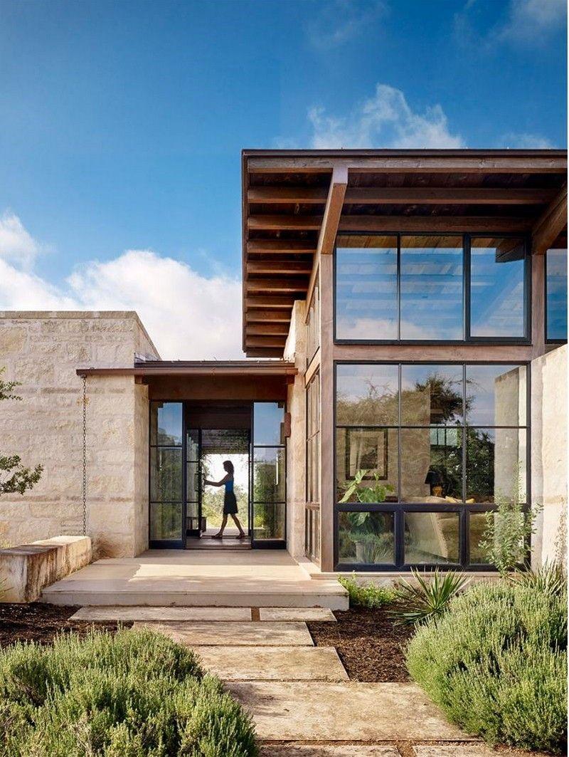 Mountain Architects Hendricks: Goat Mountain Ranch By Lake Flato Architects