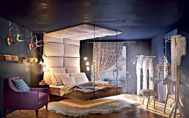 Eco Living A Fantasy Bedroom