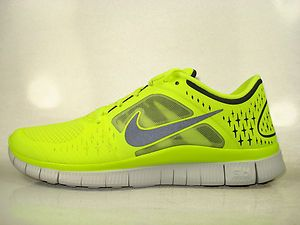 the best attitude 52920 92562 Nike Free Run + 3 Volt / Neon Yellow - Black [510642-702 ...