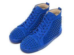 bcb0b213930  Original Box  Men Shoes Red Bottom Sneaker Luxury Party Wedding Shoes