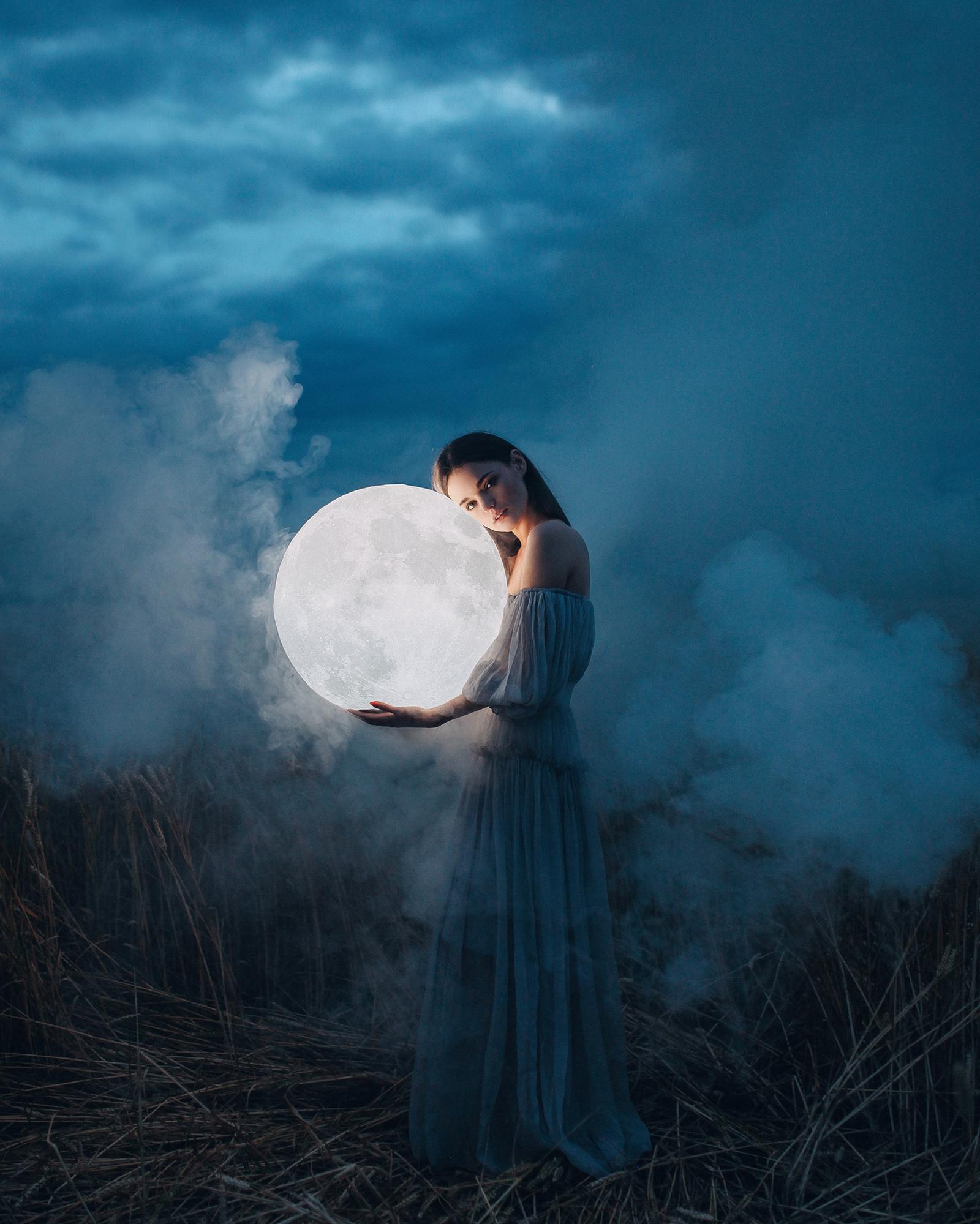 луна человек фото картинка лестницей обязательна при