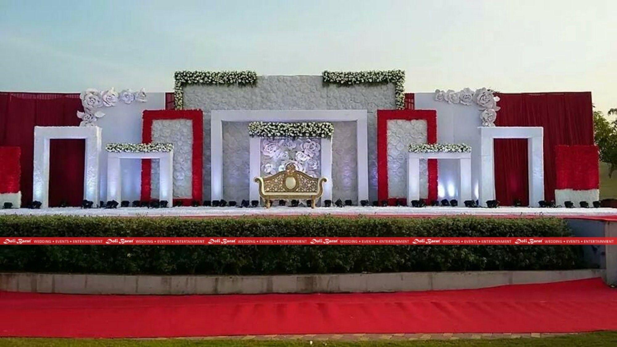Wedding gate and stage decoration  Pin by Sriram NandiKanti on miscellaneous in   Pinterest