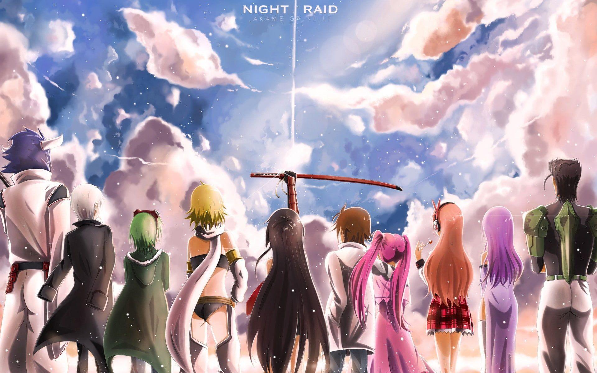 Pin By Casshy On Akame Ga Kill Akame Ga Kill Akame Ga Sky Anime