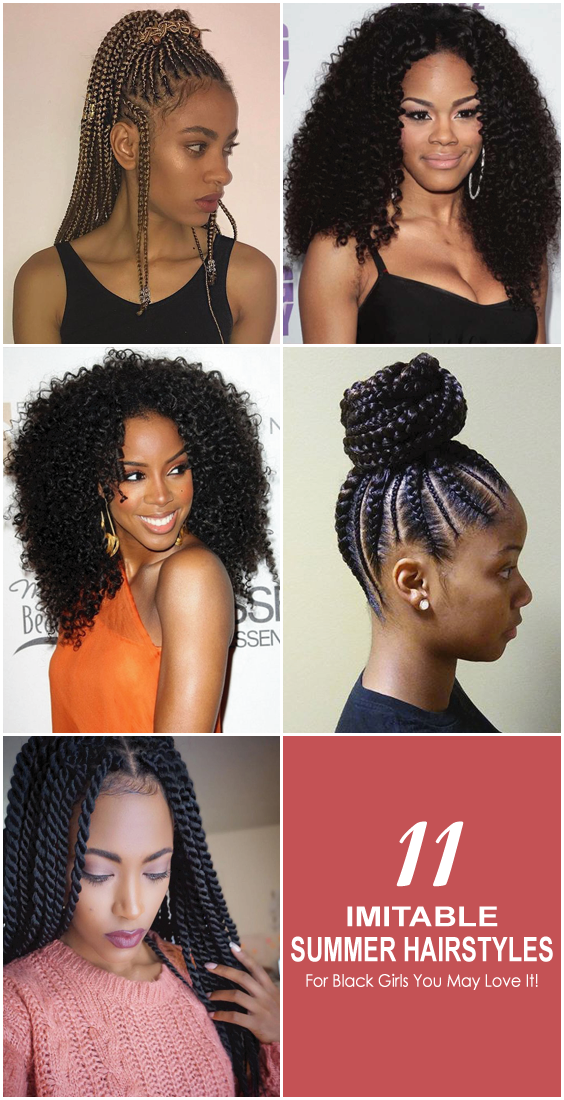 In This Collection We Can See Some Lovely And Adorable Hairstyle Which You Can Easily Apply In Your African Braids Hairstyles Pictures Hair Styles Stylish Hair