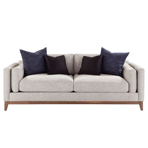 Enjoyable Mid Century Modern Stone Gray Sofa Kelsey In 2019 Pabps2019 Chair Design Images Pabps2019Com