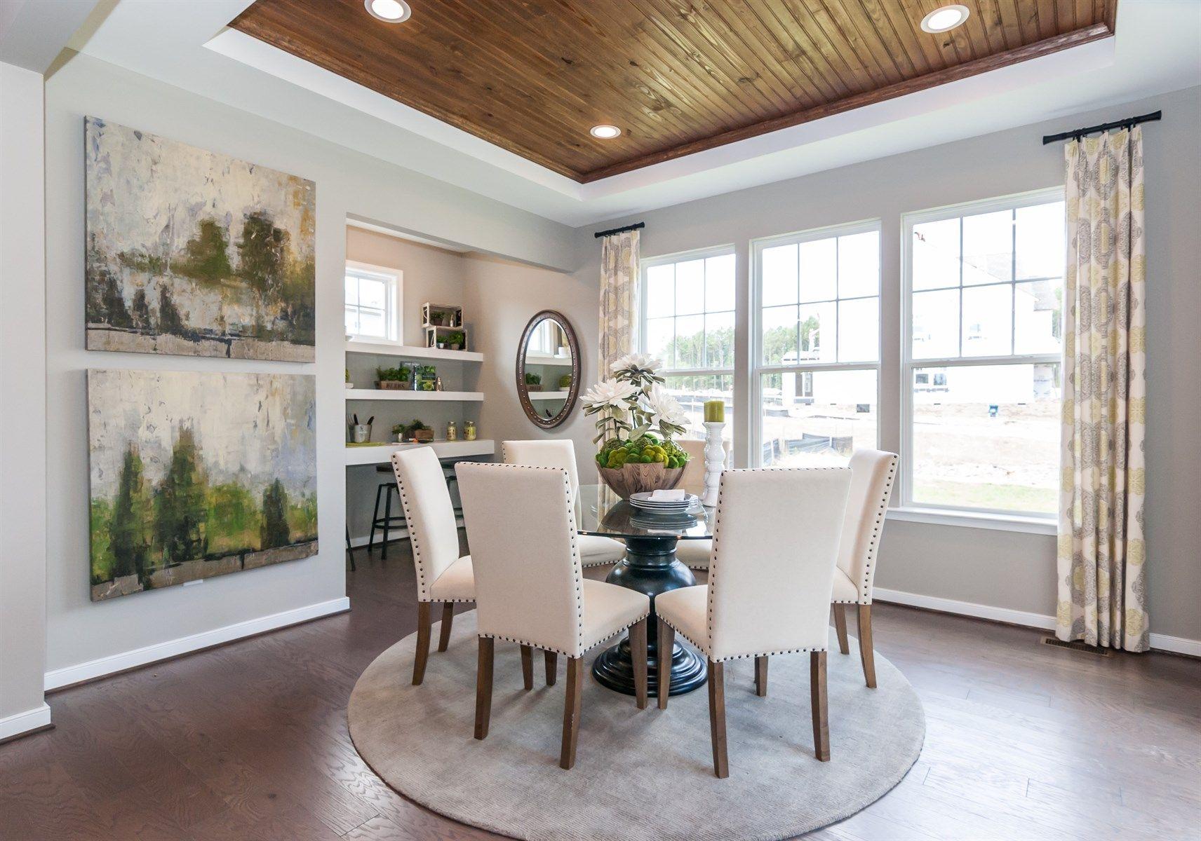 The Morgan Floor Plan At Magnolia Green In Richmond Virginia Delectable Private Dining Rooms Richmond Va Design Ideas