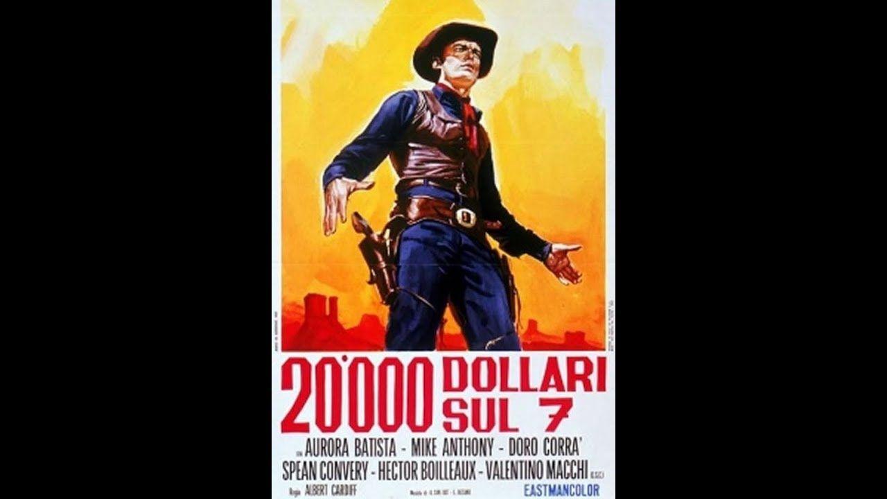20 000 Dolares De Recompensa Para 7 Balas De Vinganca Western