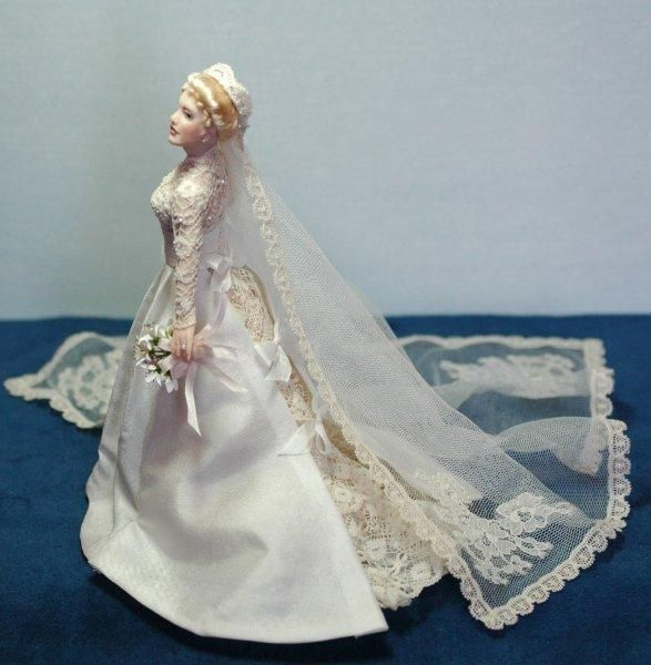 4019 - Princess Grace Wedding Dress - $5.00 | Dolls and Doll Clothes ...