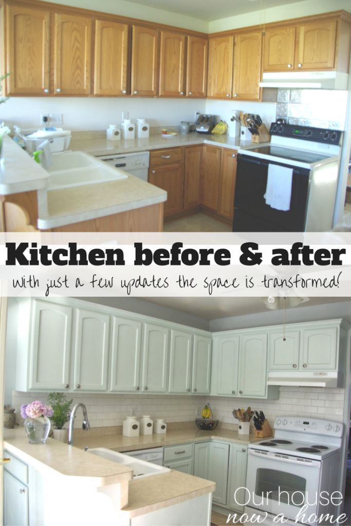 Low Cost Kitchen Updates And Solutions For A Small Kitchen. DIY Projects,  Easy Updates