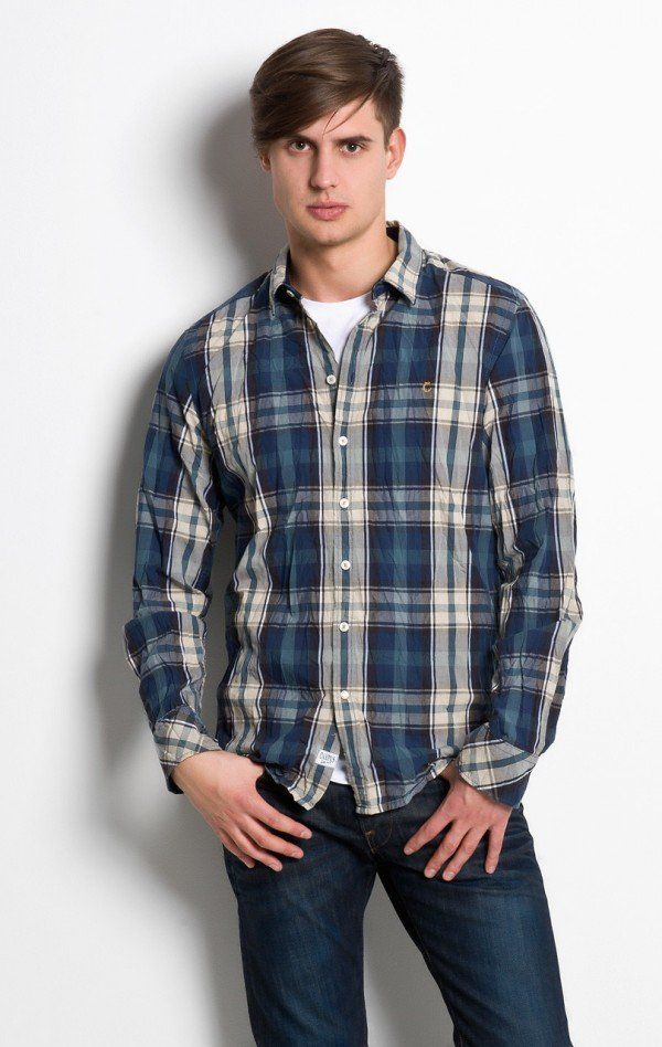 camisa xadrez masculina  2462ad2030d