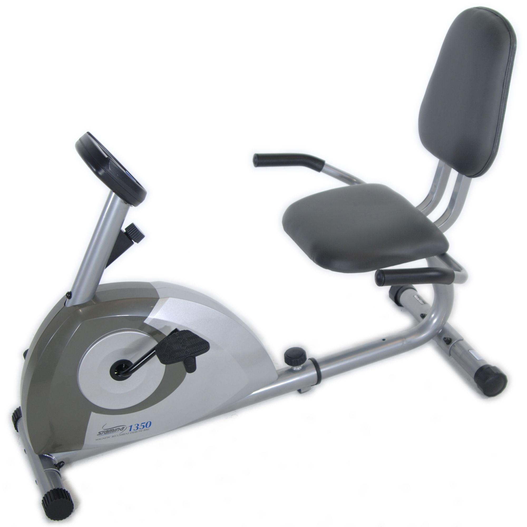 Stamina Magnetic Recumbent 1350 Exercise Bike Fitness Sports Exercise Cycles Recumbent Cycles Best Exercise Bike Exercise Bike Reviews Biking Workout