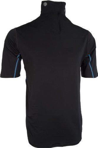 Bauer Short Sleeve Under Layer With Built In Neck Guard Short Sleeves Tops Crop Sweatshirt Hoodie Tops
