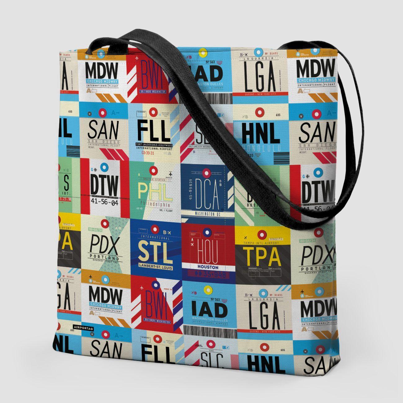 XL Airports USA - Tote Bag