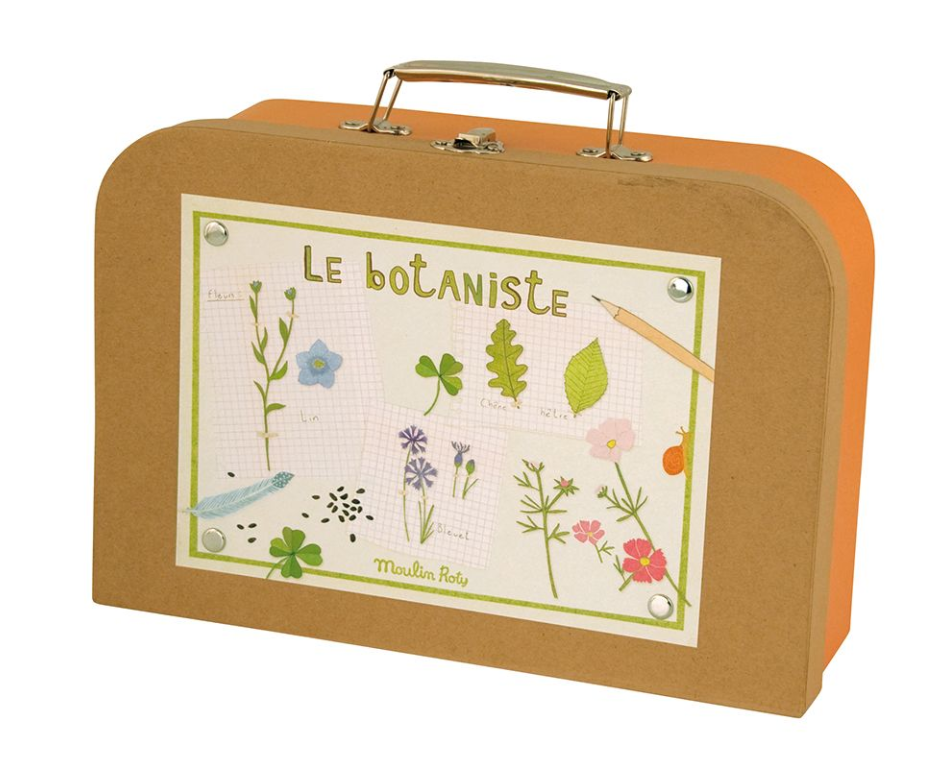 Malette Le Botaniste Petite Valise Kid Moulin Roty Jardin Petite Valise Valisette Le Moulin