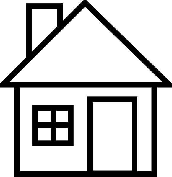 school house clip art black and white clipart panda free rh pinterest com free clipart pictures of houses free clipart pictures of houses
