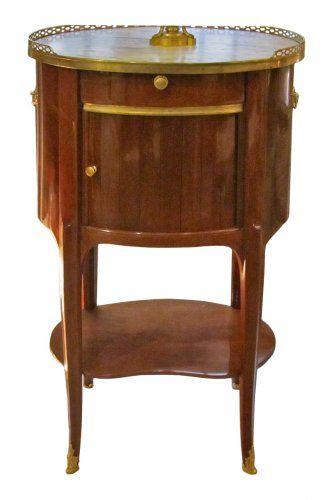 Table D Epoque Transition Estampillee J F Leleu Table A Ecrire Table De Salon Mobilier De Salon