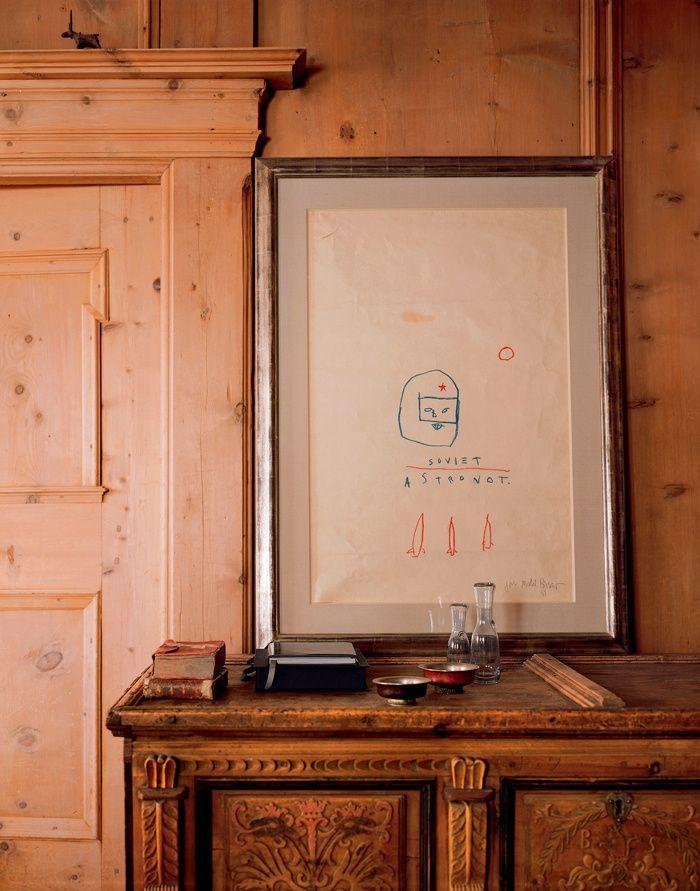 Une maison du0027artiste en Suisse Jean michel basquiat, Jean michel