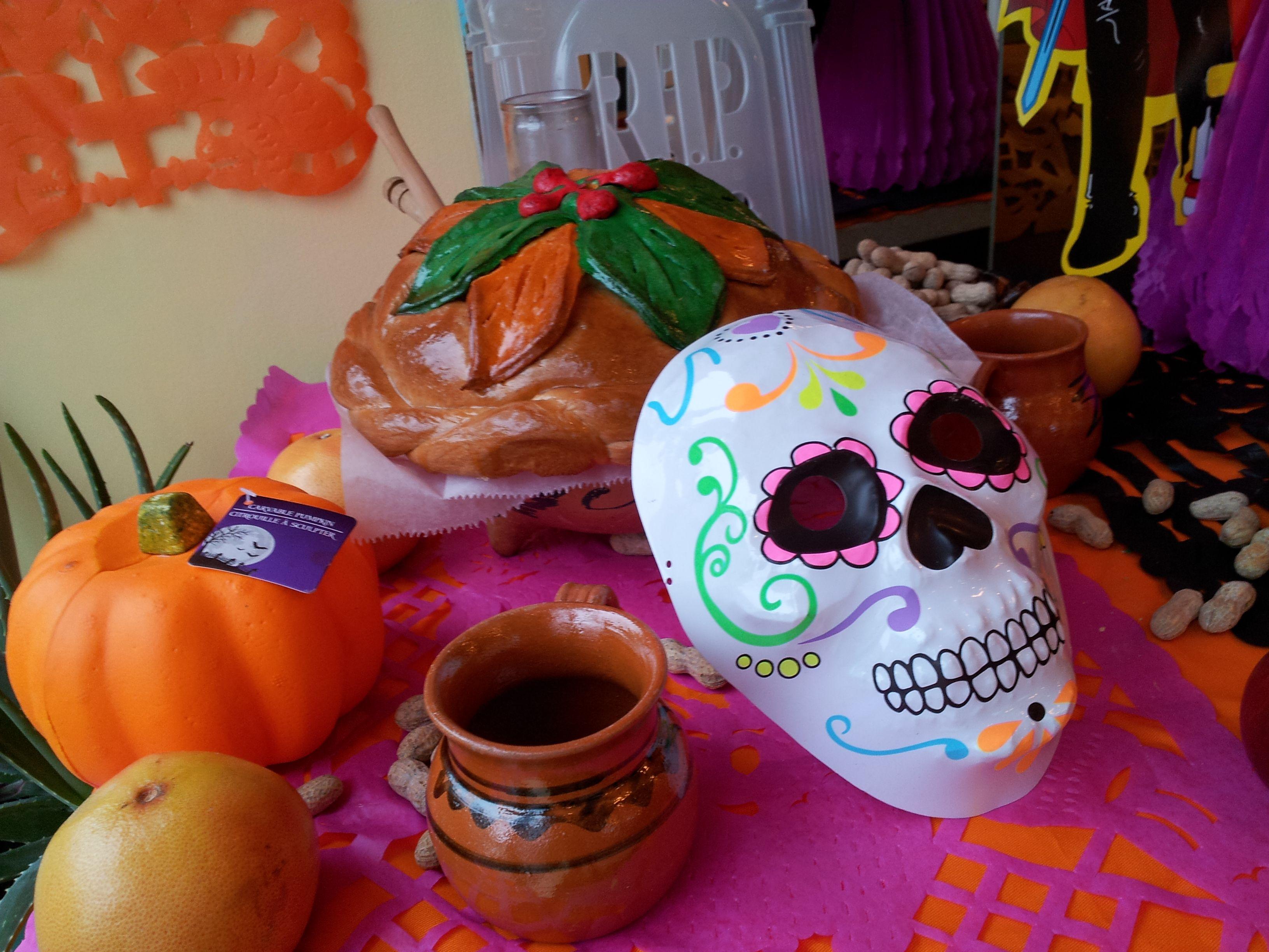 Celebrating Dia de los Muertos at La Baguette in Chicago's Andersonville neighborhood
