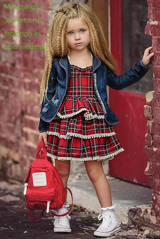 Girls plaid dress baby girl plaid pleated dress holiday