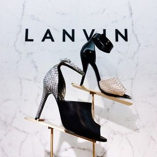 #lanvin makes it so hard to choose. #perfectpairs