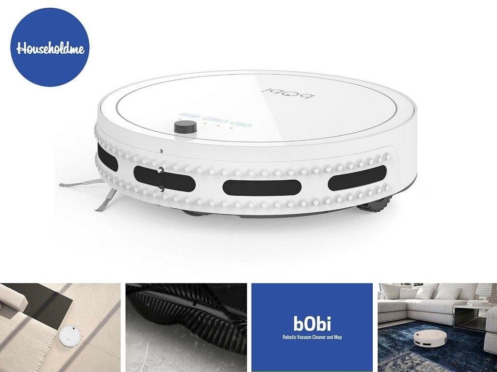bObi Robotic Vacuum Cleaner and Mop | Buy on Amazon: http://amzn.to/1RWnFbM  #bobi #roboticvacuum #robotmop #robotvacuum #bobivacuum #bobirobot #householdme #cleaning #autocleaning #cleaningtips #vacuumcleaner #botvac