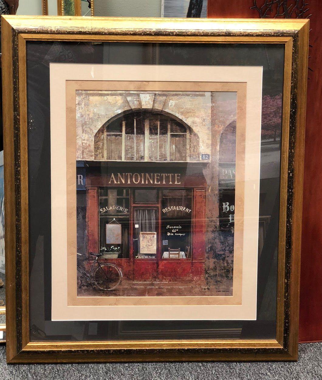 Framed Antoinette Restaurant Picture $79 Bonrics Custom Framing and ...