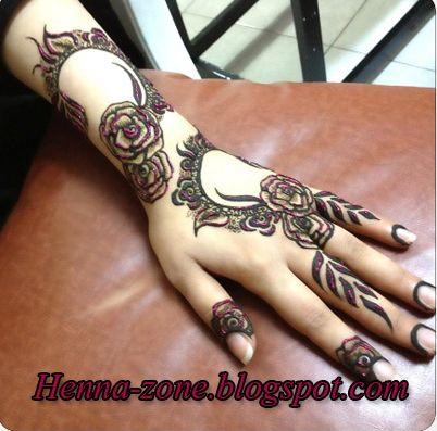 Henna Zone أحدث نقوش الحناء لأم محمود سترة Rose Mehndi Designs Mehndi Designs Mehndi Art