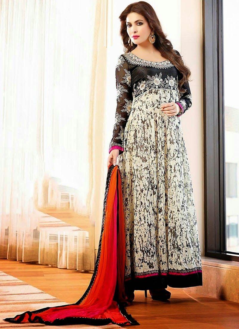 Latest anarkali dresses for eid ul azha indian