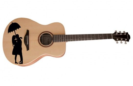 Guitar Stickers Are Compatible With Almost All Acoustic Guitars And Employ Patented Air Release Technology For Bubble Fr Guitar Stickers Guitar Acoustic Guitar