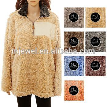 sherpa fleece pullover #sherpa pullover #1/4 zip pullover #fleece ...
