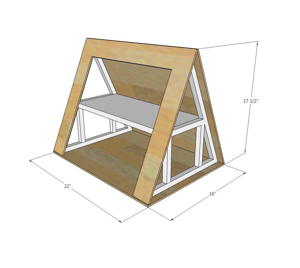 A Frame Dollhouse