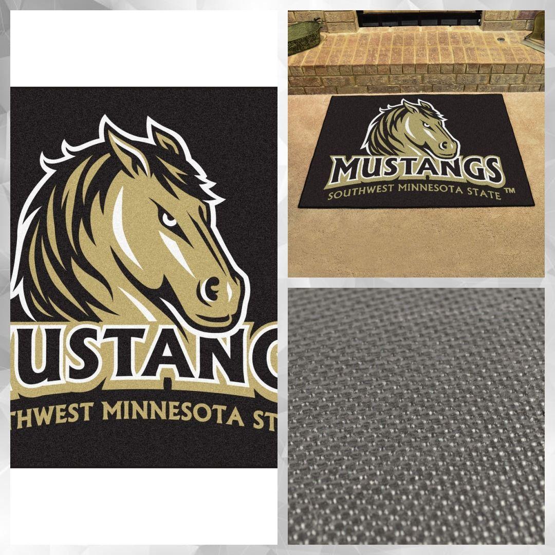 "Southwest Minnesota State AllStar Mat 33.75""x42.5"" 34.99"