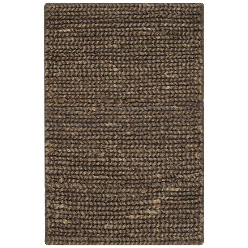 Masha Hand Knotted Brown Area Rug Brown Area Rugs Area Rugs Rugs