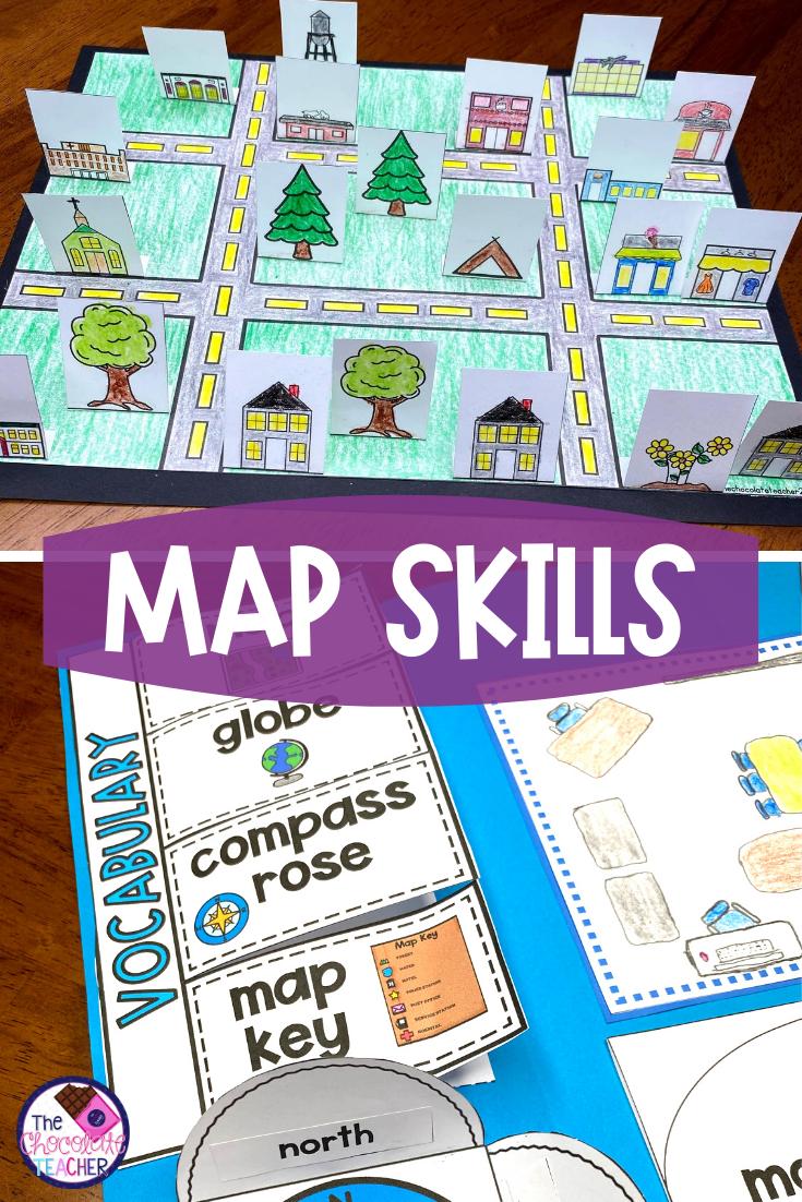 Map Skills Worksheets Mapping Skills Activities Map Skills Kindergarten Learning Activities Map Activities [ 1102 x 735 Pixel ]