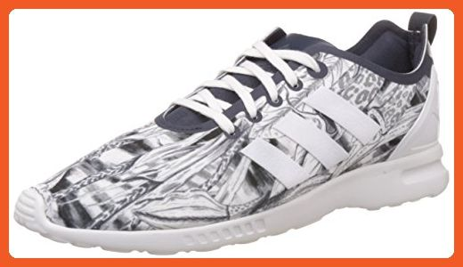 the best attitude ea999 7d8e3 Adidas Zx Flux Smooth Womens Sneakers White - Sneakers for ...