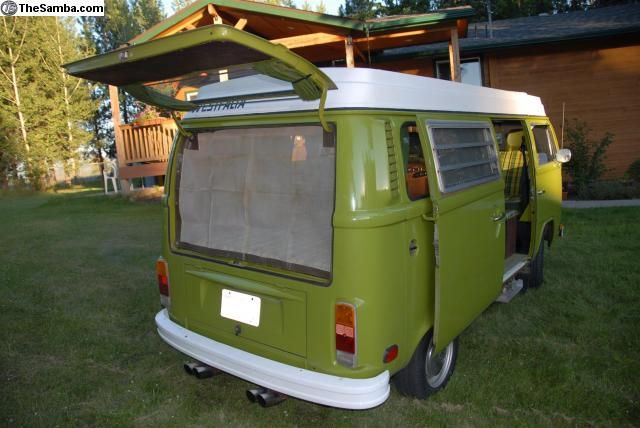 1976 Westfalia Campmobile