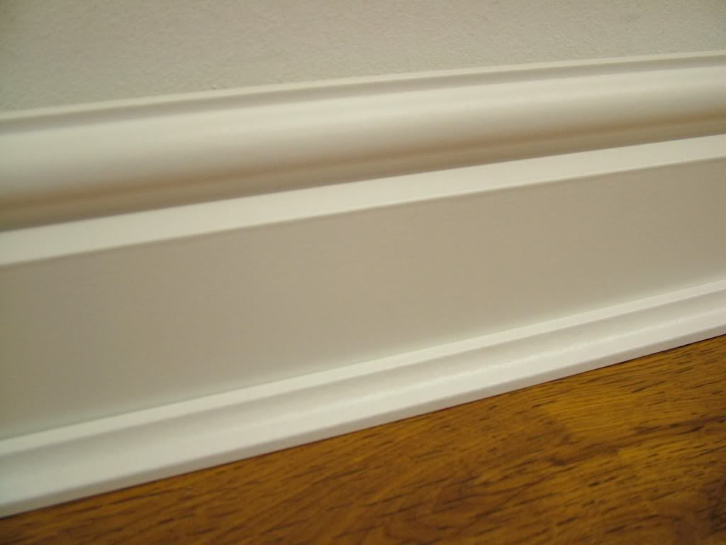 Laminate Flooring With White Trim Looks Better Than I