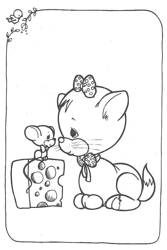 coloring pages of precious moments animals coloring pages