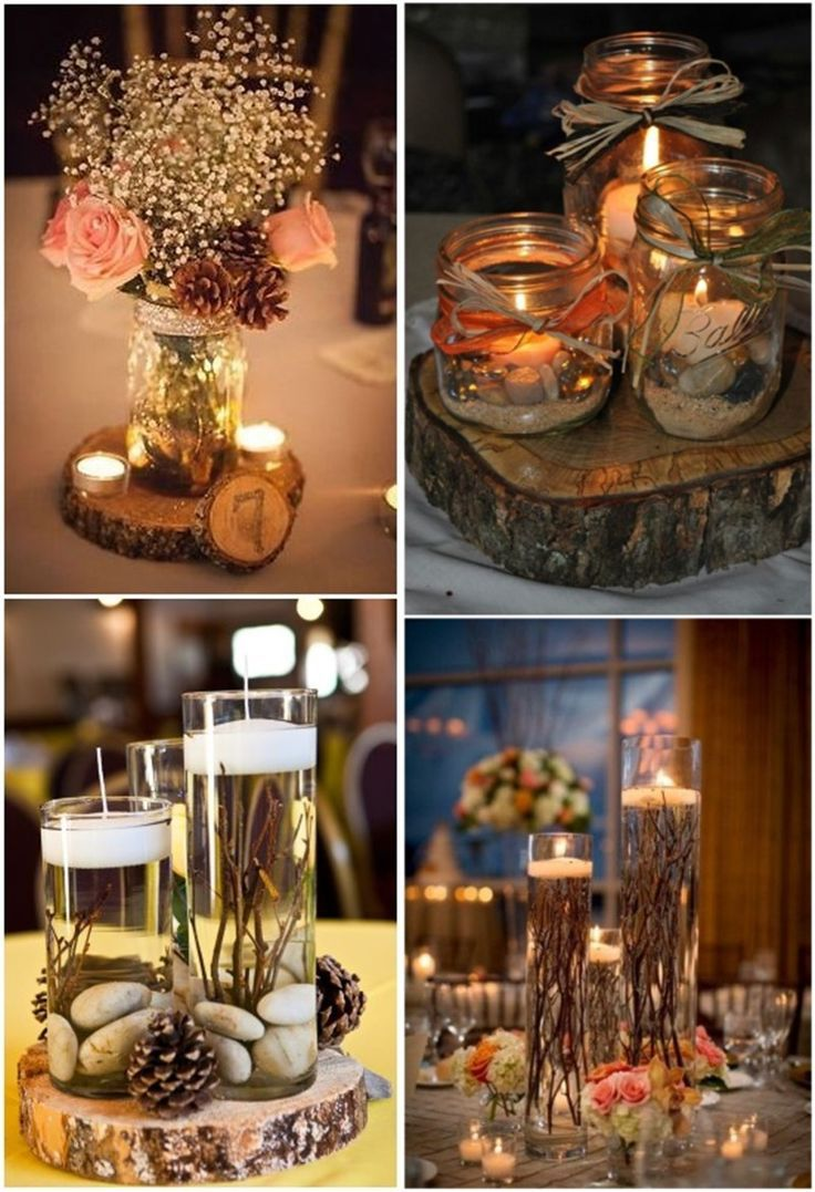 Mason jar wedding decoration ideas   Must See Dropdead Rustic Wedding Ideas  Wedding Ideas