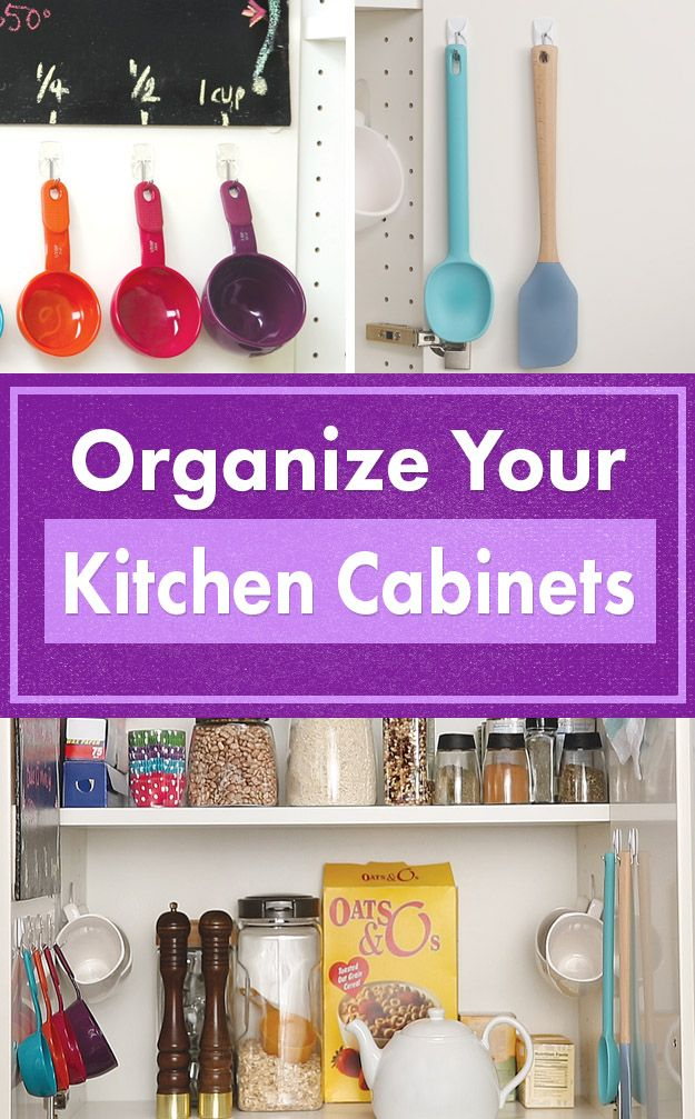 How To Organize Your Kitchen Cabinets Nifty Kitchen