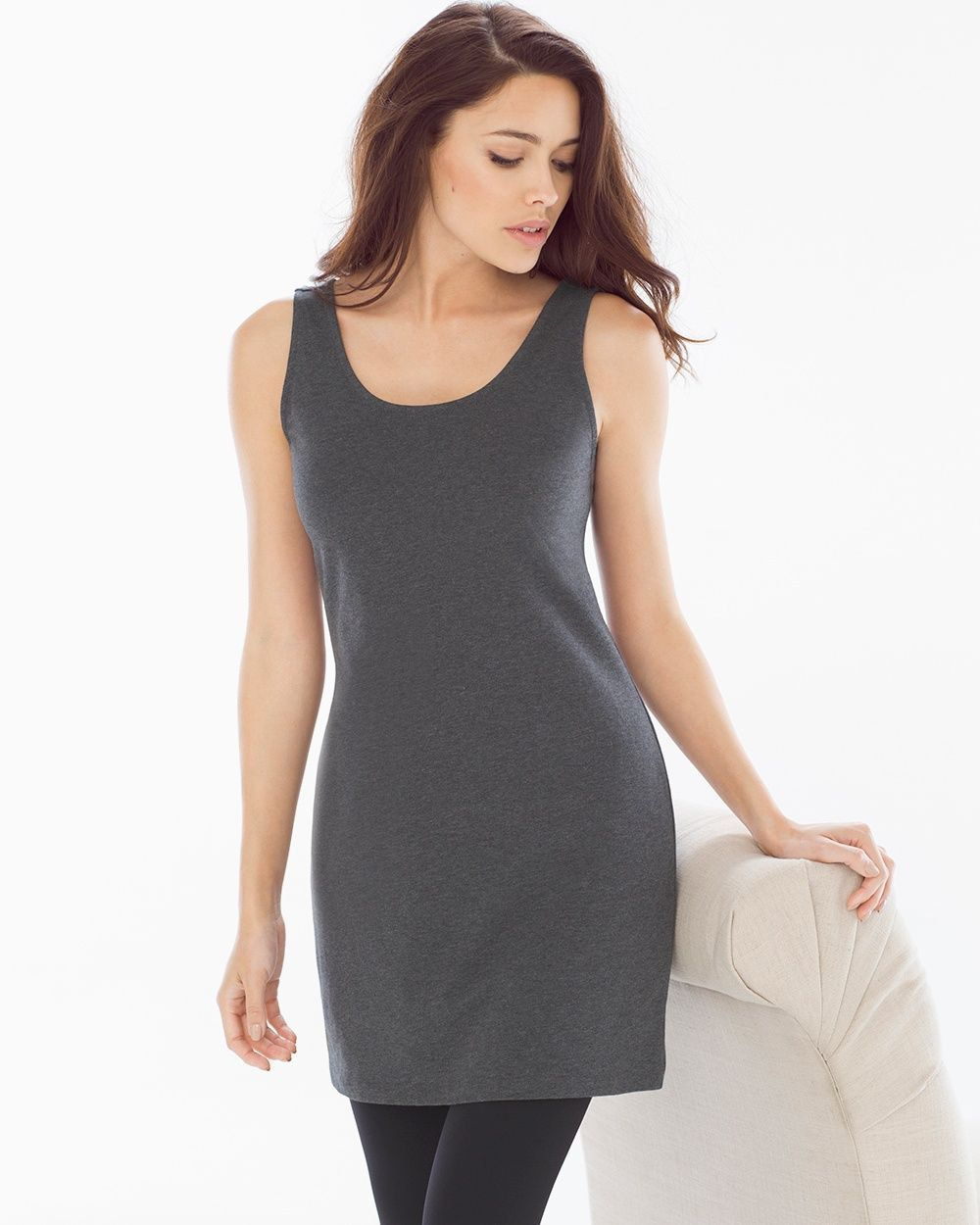 c9070ae435b Soma Pima Cotton Tunic Layering Tank Heather Quartz | Products ...