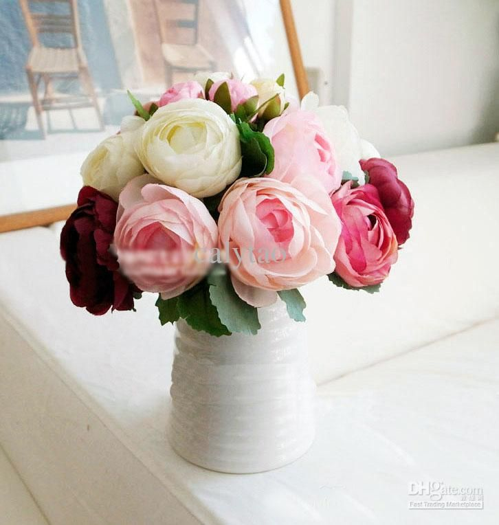 peony flower decorations - Google Search