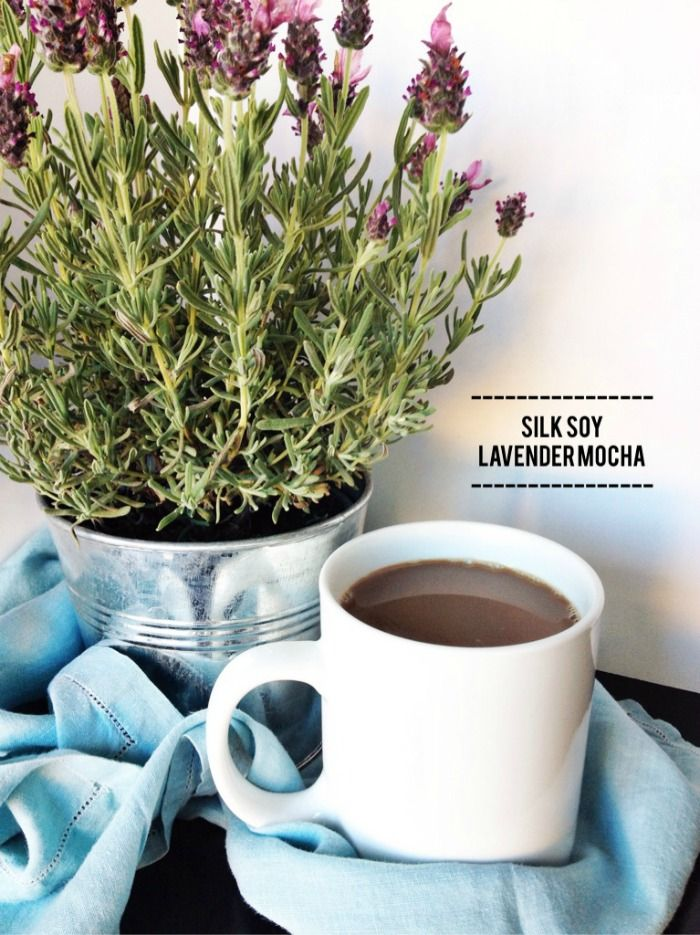 Silk Soy Lavender Mocha @LoveMySilk #sp #silkproteinpower - fall drinks, latte make at home coffee