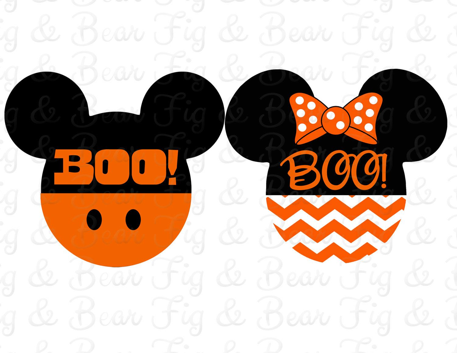 disney family shirts halloween iron on transfers mickey mouse and minnie mouse personalized free by figandbear on etsy null - Disney Halloween Photos