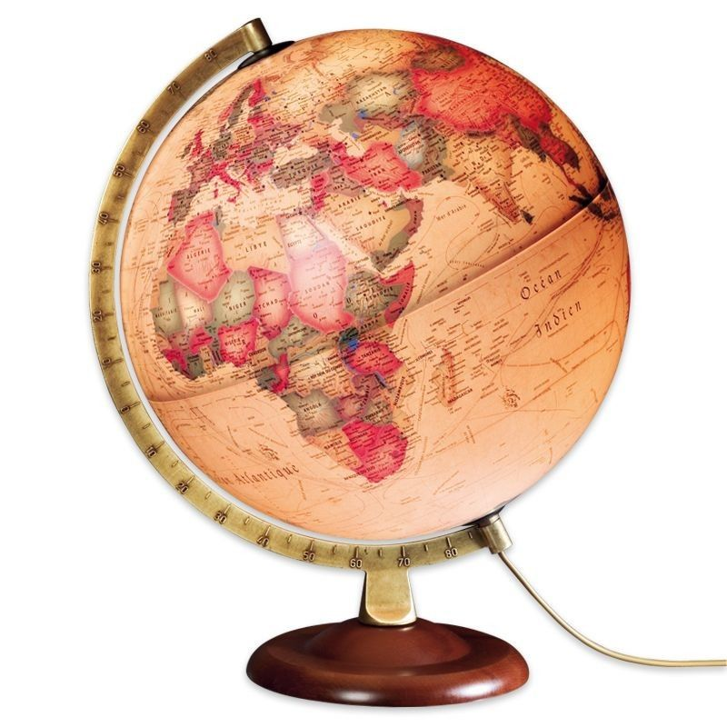 globe terrestre lumineux collections globes maps. Black Bedroom Furniture Sets. Home Design Ideas
