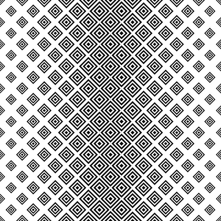 Seamless Black White Square Pattern Desenler