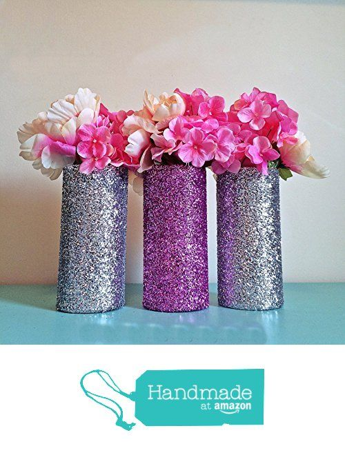 3 pink and silver glitter glass cylinder vases wedding centerpieces 3 pink and silver glitter glass cylinder vases wedding centerpieces silver wedding gold junglespirit Image collections