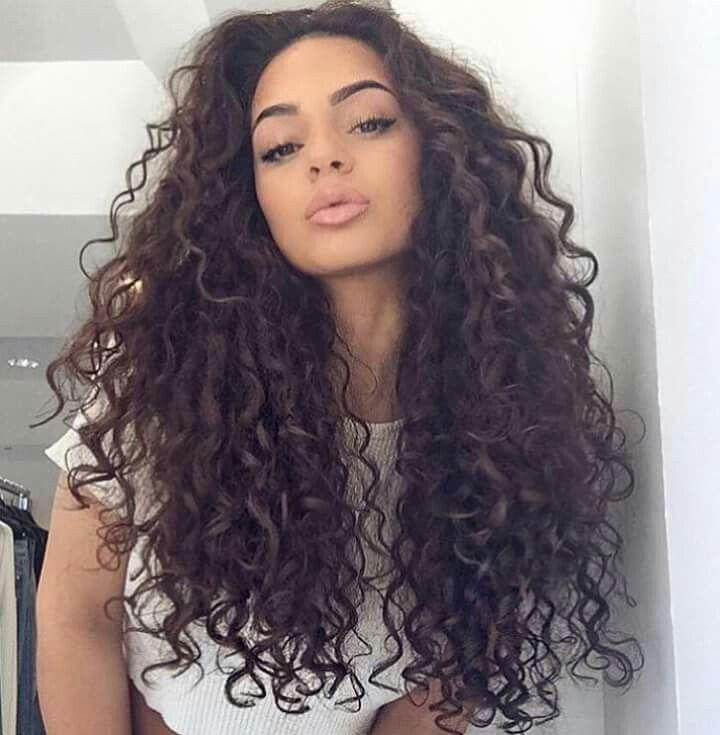 Dark Brown Curly Hair Hair Styles Curly Hair Styles Naturally Hair